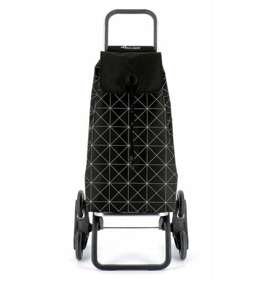 Nakupovalna torba s kolesi za lažji prevoz po stopnicah Rolser I-Max Star Rd6