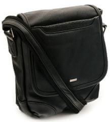 4U Cavaldi Pánská koženková taška Cavaldi Sam, černá