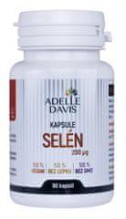 Adelle Davis Selén, 200 mcg, 60 kapsúl