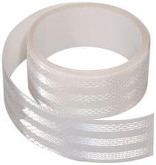 Compass Samolepící páska reflexní 5m x 5cm bílá (role 5m)