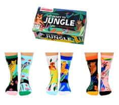 United Odd Socks Veselé ponožky Get Ready To Jungle veľ.: 31-39