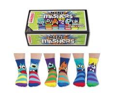 United Odd Socks Detské veselé ponožky Mini Mashers veľ.: 27-30