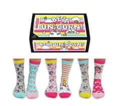 United Odd Socks Veselé ponožky Be a Unicorn veľ.: 37-42