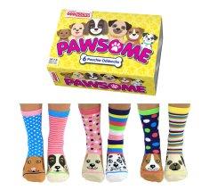 United Odd Socks Veselé ponožky Pawsome veľ.: 37-42