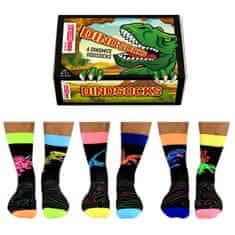 United Odd Socks Veselé ponožky Dinosocks veľ.: 39-46