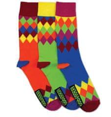 United Odd Socks Veselé ponožky Charlie 3ks veľ.: 39-46