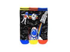 United Odd Socks Veselé ponožky Astro 3ks veľ.: 31-39
