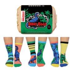 United Odd Socks Veselé ponožky Dino Eggs veľ.: 31-39
