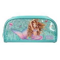 Fantasy Model Kozmetična torba , Sirena, turkizna z bleščicami