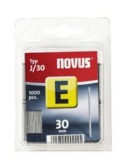 Novus Hřebíky E typ J/30 balení: balení á 1000ks, obal: závěska