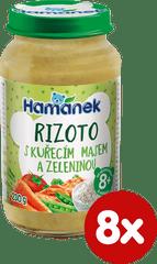 Hamánek Rizoto kuře zelenina 8x 230g