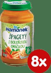 Hamánek Špagety s boloňskou omáčkou 8x 230g
