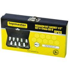 Topmaster HEX V GRT priključci. 4-17 mm, 9 x