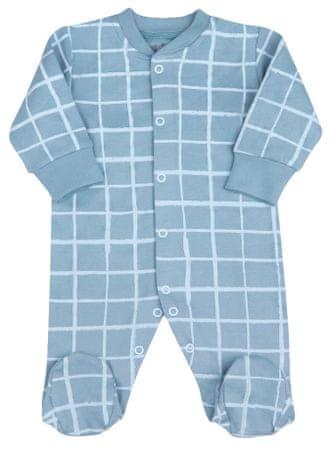 Nini ABN-2108 bodi za dječake od organskog pamuka, plava, 56