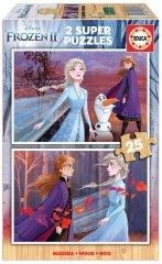 EDUCA Puzzle 2x25 dílků - Frozen II