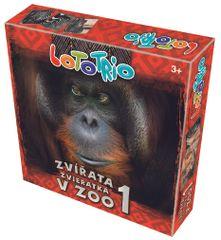 Pexetrio Loto-trio Zvířata v ZOO 1