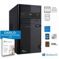 PCplus e-office računalo + POKLON: 1 godina Microsoft 365 Personal (141120)