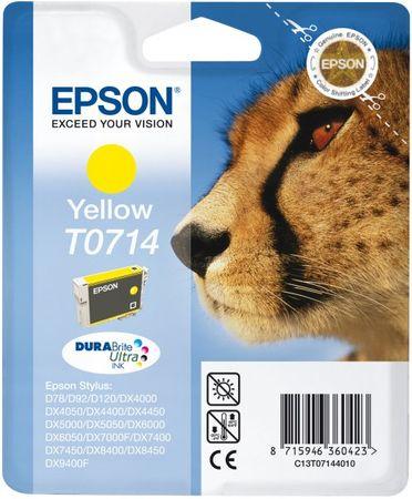 Epson T0714 Tintapatron, sárga