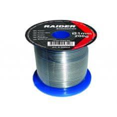 RAIDER žica za lemljenje, 1 mm, 200 g