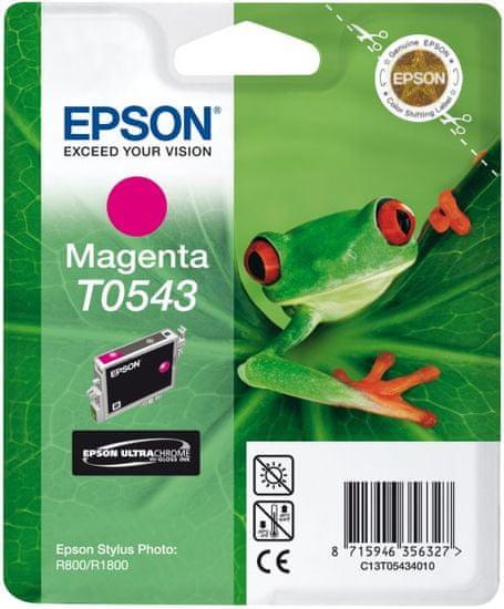 Epson T0543, purpurová (C13T05434010) - použité