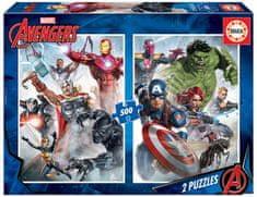 EDUCA Slagalica Avengers, 2x500 komada