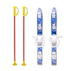 Master Baby Ski 70 cm - detské plastové lyže - modré