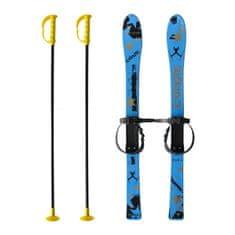 Master Baby Ski 90 cm - detské plastové lyže - modré