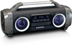 LENCO SPR-100 čierna