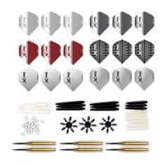 XQMAX XQMax Darts Dartset - Steel Brass- 23g
