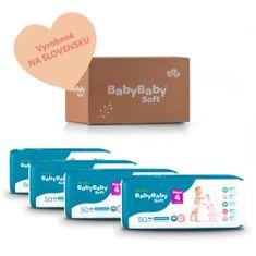 BabyBaby Soft MESAČNÉ BALENIE MAXI 4 (200ks)