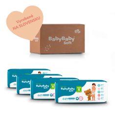 BabyBaby Soft  MESAČNÉ BALENIE JUNIOR 4 (176ks)