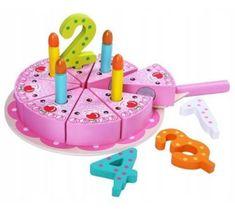 Derrson drevený narodeninovú tortu ružový
