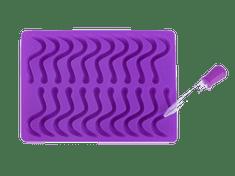 Čo Dokáže Mama Silikónová forma na gumových hadíkov, fialová