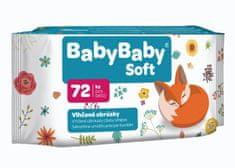 BabyBaby Soft Vlhčené obrúsky krémové s výťažkom z aloe vera (72ks)