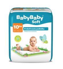 BabyBaby Soft Prebaľovacie podložky 10ks