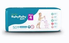 BabyBaby Soft Plienky MAXI 4 (7-18kg) 50ks