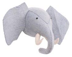 Kidsdepot otroška dekoracija sten - ZOO ELEPHANT - BLUE
