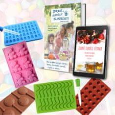 Čo Dokáže Mama Sada foriem na domáce sladkosti s knihou
