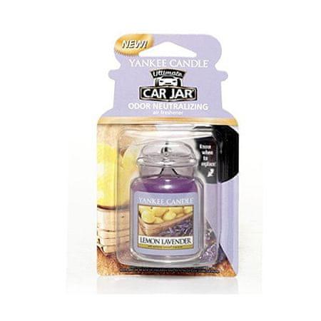 Yankee Candle Luxus autóillatosító citrom és levendula illattal -Lemon Lavender 1 db