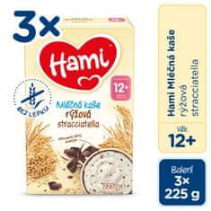 Hami mliečna kaša ryžová straciatella 3x 225g
