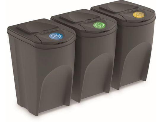 M.A.T. Group koš na tříděný odpad 3 x 35l ŠE