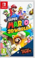 Nintendo Super Mario 3D World + Bowserova igra Fury (Switch)