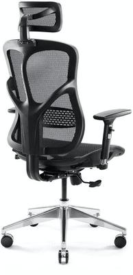 Gaming office kerekes szék Diablo-Chairs V-Basic, fekete (5902560334418) állítható háttámla, 150 kg teherbírás
