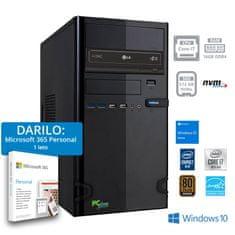 PCplus e-office računalo + POKLON: 1 godina Microsoft 365 Personal (141123)