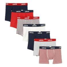 Levi's 7PACK pánske boxerky viacfarebné (100002740 002)