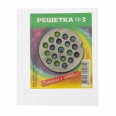 "Kraftika Kratka d = 5.3 cm ""chrome 54-7"", otwory 7mm"