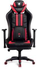 Diablo Chairs X-Ray, XL, černá/červená (5902560336115)