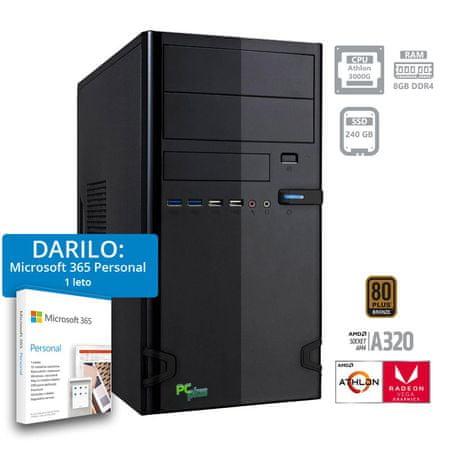 PCplus i-net namizni računalnik + DARILO: 1 leto Microsoft 365 Personal (141126)
