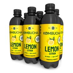 LONG LIFE BIOTEA Kombucha Citron 0.5l - 6ks