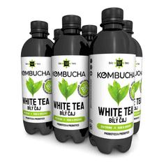 LONG LIFE BIOTEA Kombucha biely čaj 0,5l - 6ks